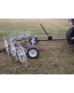 """60"""" V-Style Acreage Rake / Yard Tuff ACR-500T"""